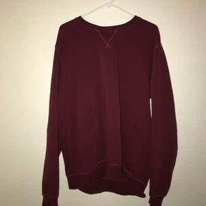 Forever 21 Burgundy fleece sweatshirt
